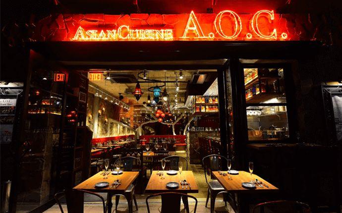 麻布十番駅から徒歩1分の東京都港区にあるAsian Cuisine A.O.C.
