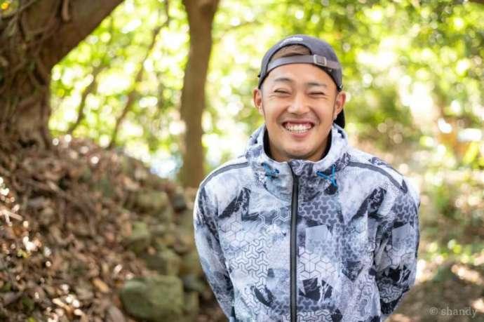 和歌山県有田市にある地ノ島キャンプ場の平野さん
