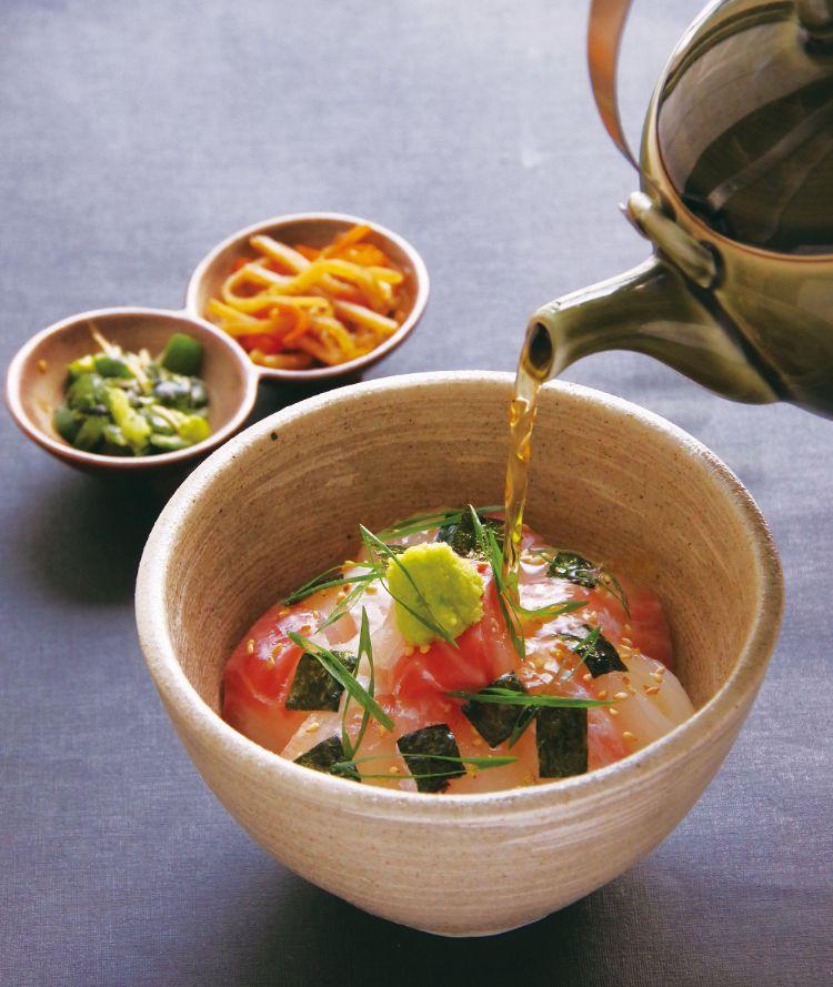 「銀座 福祿壽」で味わえる人気のランチメニュー「福禄寿特製鯛茶漬け」