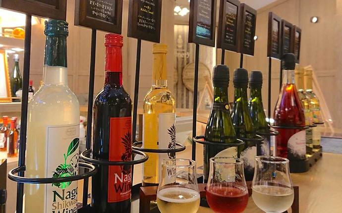 ナゴパイナップルパークのワイン各種