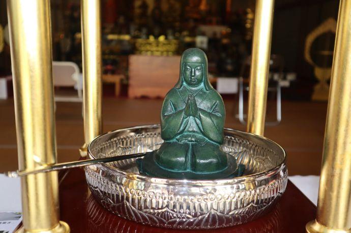 総持寺のお堂の中