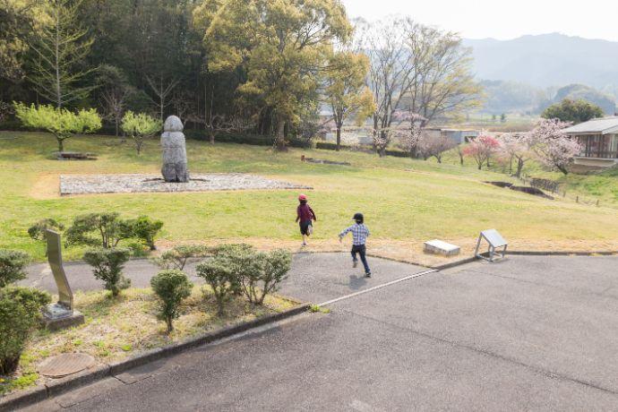 奈良文化財研究所飛鳥資料館の庭園