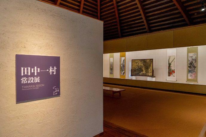 田中一村記念美術館の第1展示室