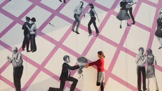 二十四の瞳映画村で撮れる「恋のダンスパーティー」の写真
