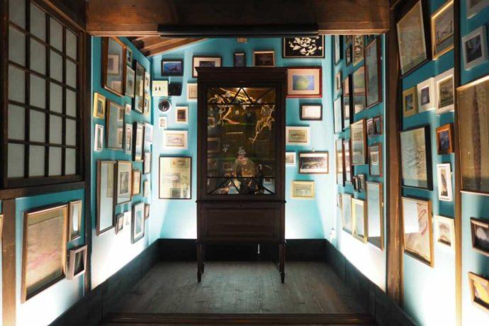 二十四の瞳映画村に展示されている瀬戸内国際芸術祭作品「漁師の夢」