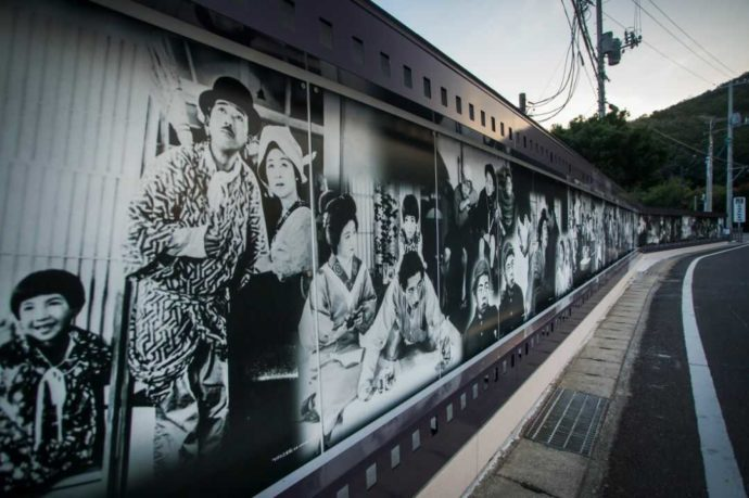 二十四の瞳映画村のシネマ・アートウォール