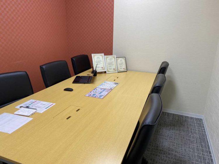 京都の結婚相談所サニーソウマリッジの落ち着いた相談室