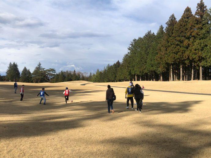 地元さくら市在住の外国人の方々が日本語教室の課外授業としてフットゴルフを体験