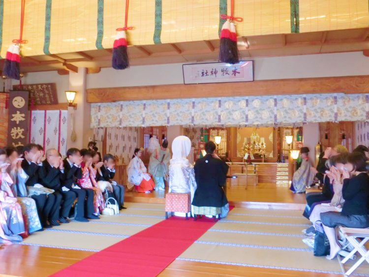 本牧神社神前結婚式