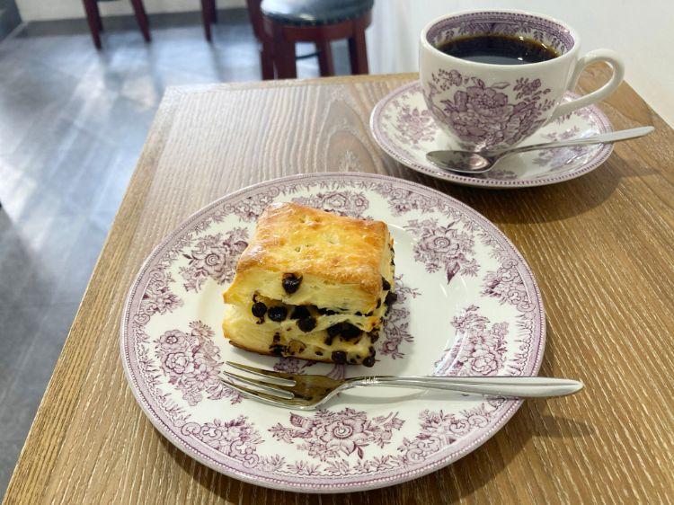 スクロップ コーヒー ロースターズ 青山店のチョコチップスコーン