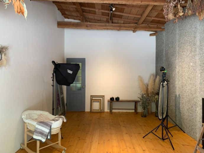 飯野八幡宮に併設されているフォトスタジオ