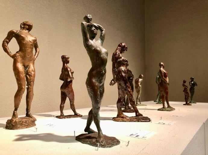 本郷新記念札幌彫刻美術館に展示されている様々な彫刻作品