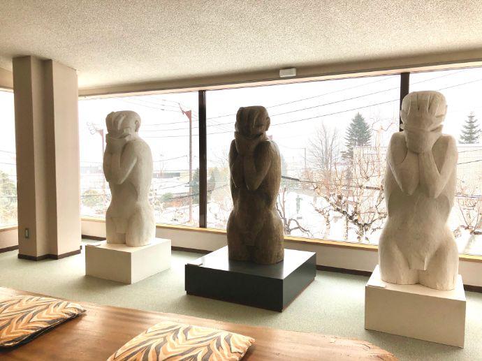 本郷新記念札幌彫刻美術館から見える景色