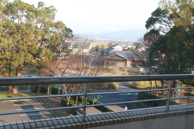 KOIBANAから見る熊本の景色