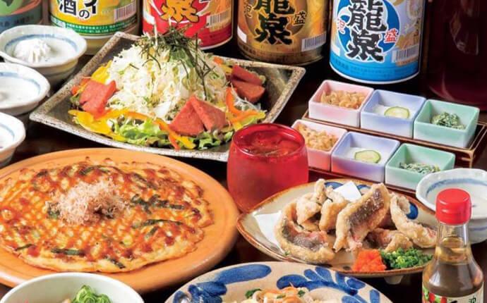 福岡市博多にある「沖縄料理 あだん KITTE博多店」で食べられる沖縄料理