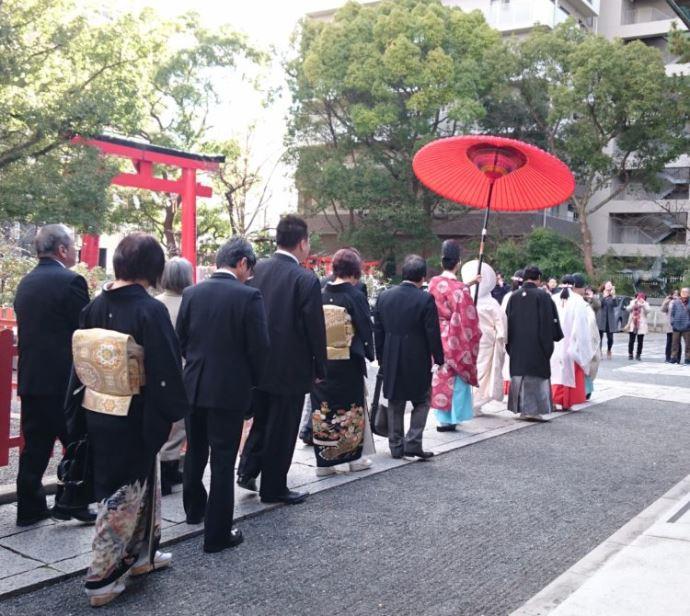 開口神社で神前結婚式を挙げた夫婦・参列者の口コミ