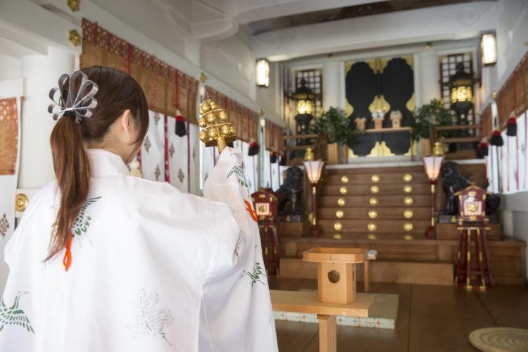 開口神社で挙式しようと考えているカップルへメッセージ