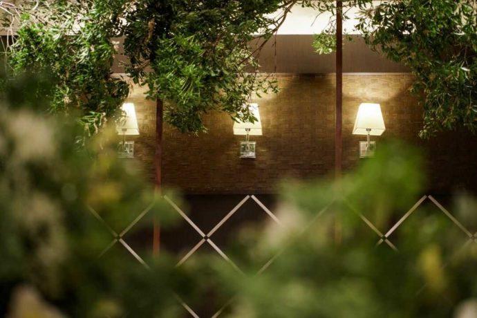 香川県高松市の結婚式場アイルバレクラブのヴィラの内観