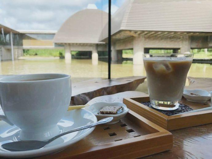 田中一村記念美術館のカフェドリンク