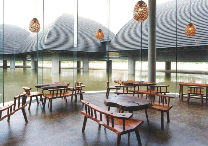 田中一村記念美術館のカフェ