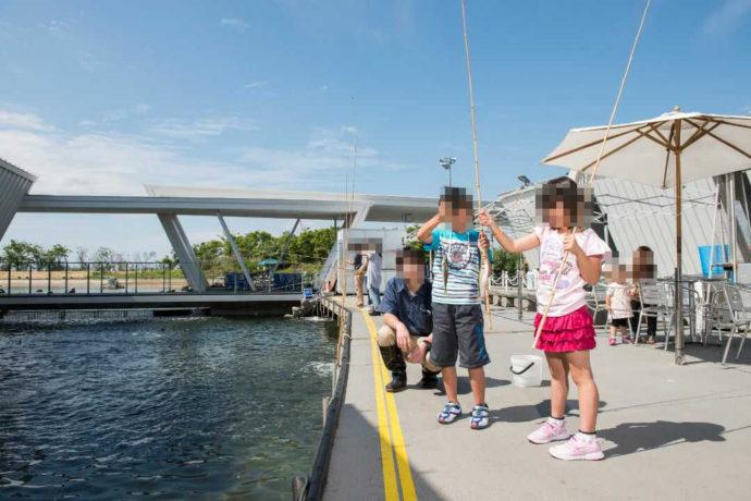 「環境水族館アクアマリンふくしま」の釣り体験