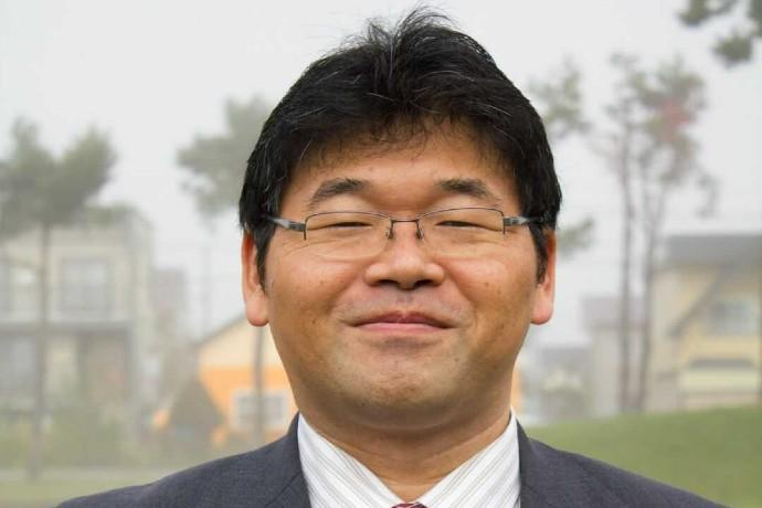三浦綾子記念文学館・事務局長の難波真実さんの写真