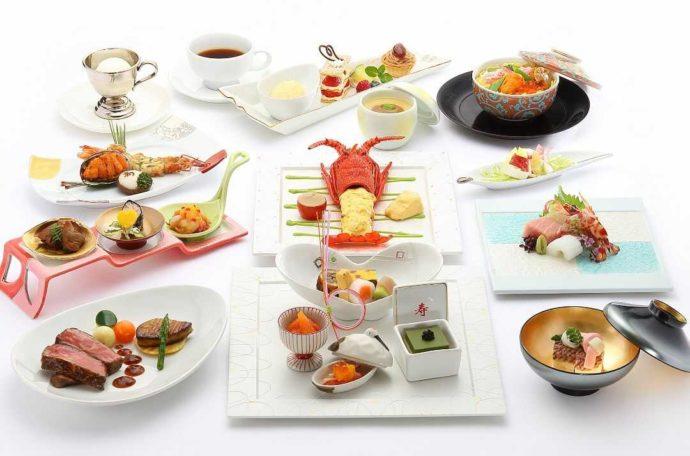 ホテルアウィーナ大阪の披露宴でいただける和洋折衷料理