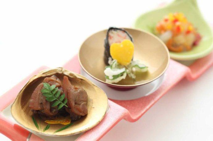 ホテルアウィーナ大阪の披露宴で出てくる小皿料理