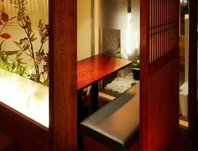Bar karmaの半個室