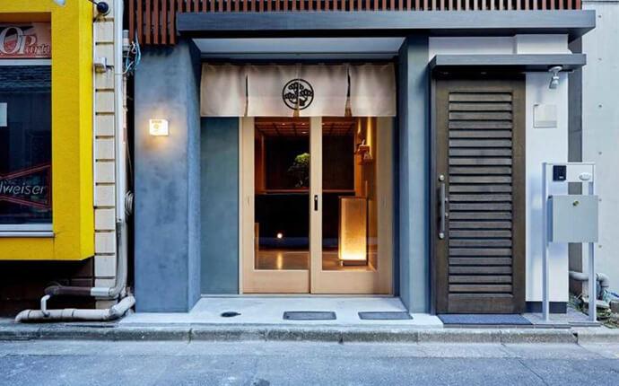 東京都中央区銀座にあるBONGEN COFFEEの外観