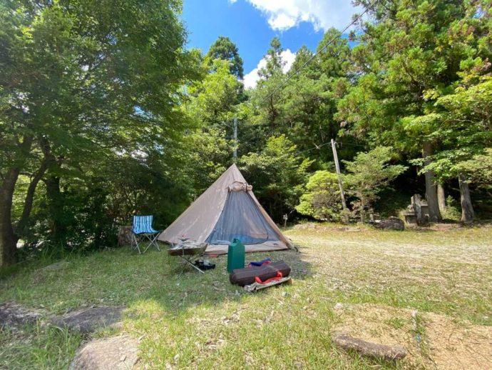 キャンプ場がプレオープン