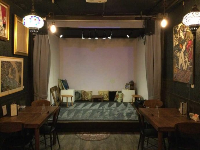 TheaterCafe&Dining Prosceniumのステージ