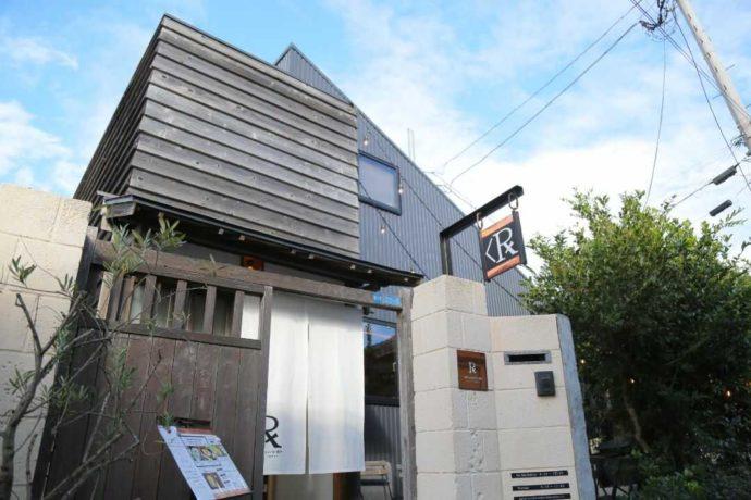 カフェルセット鎌倉の外観
