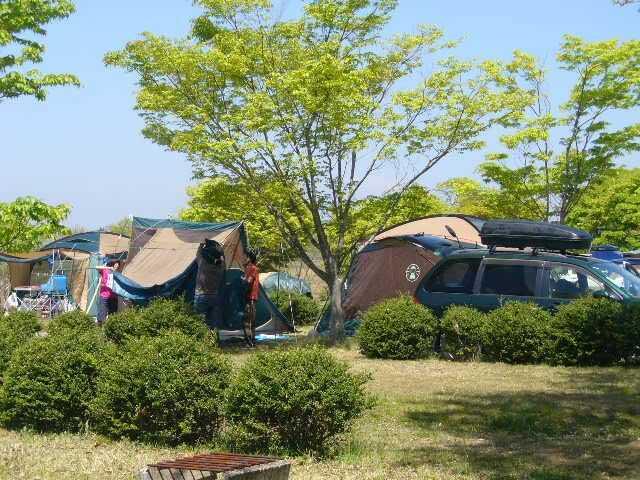 チロリン村キャンプグランドのラージサイト