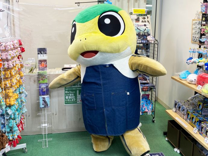 サケのふるさと 千歳水族館のマスコットキャラクター