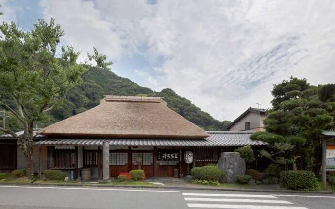 静岡県静岡市にある丁子屋の外観