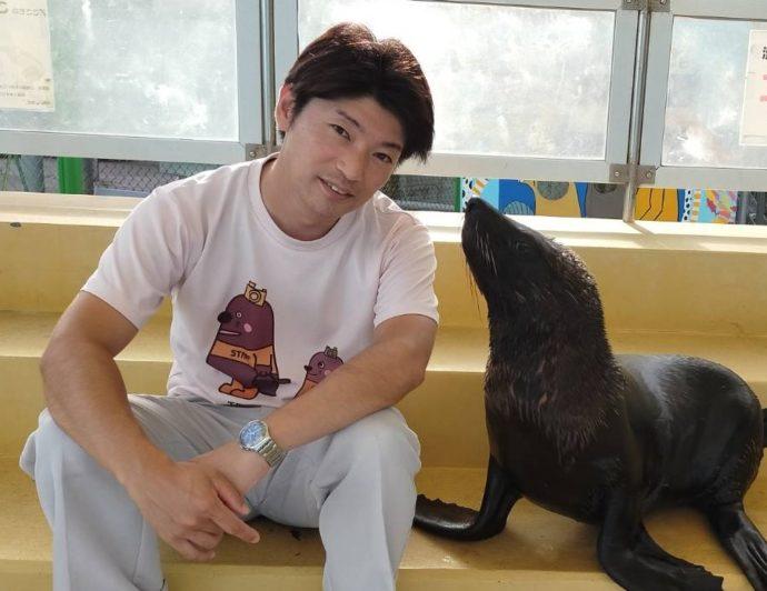 竹島水族館の館長・小林さんからのメッセージ