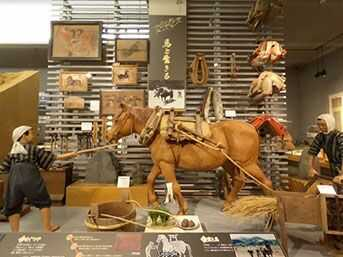 南相馬市博物館「馬と生きる」の展示