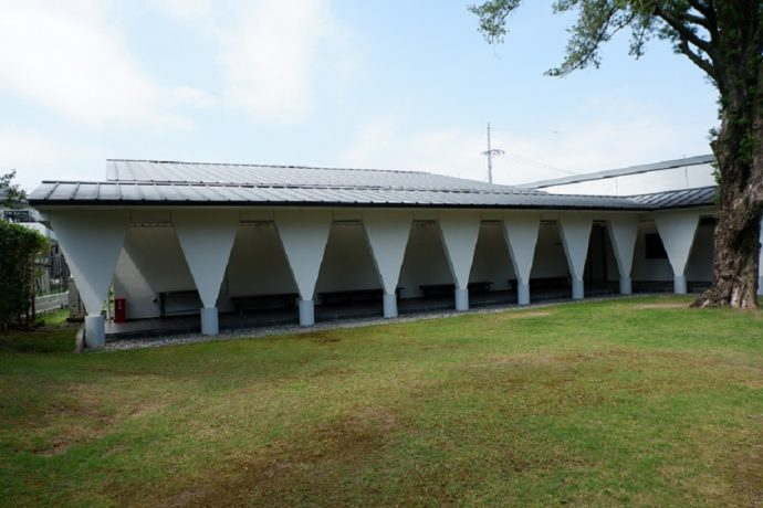 島田市博物館分館・海野光弘版画記念館の外観