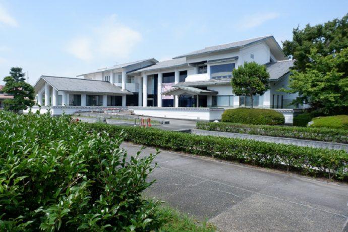 島田市博物館本館の外観