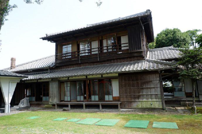 島田市博物館分館の日本家屋