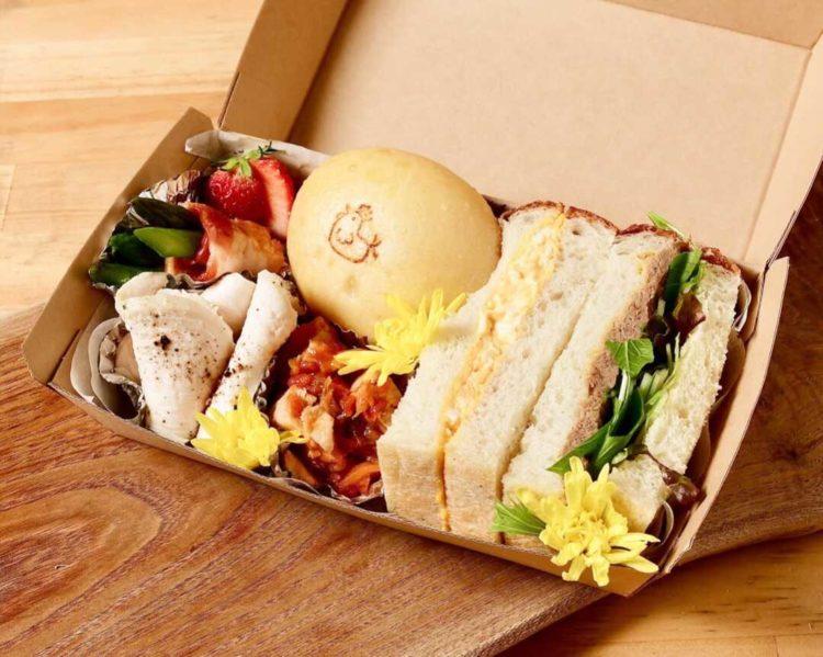 ラトリエコッコのサンドイッチ&デリボックス
