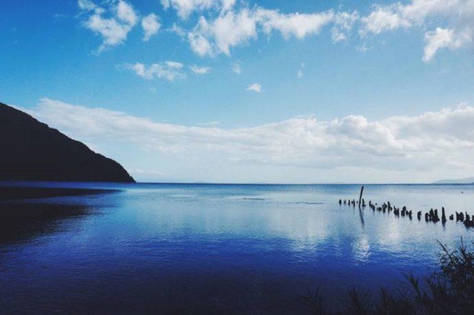 滋賀県にあるびわ湖