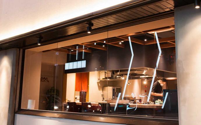 北海道札幌市にあるライブキッチンコレゾの外観