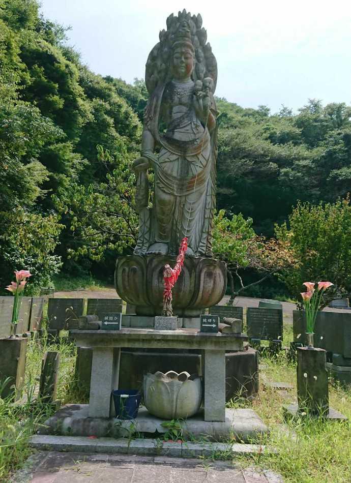 縁切り・縁結びができるといわれる菅生山 大宝寺の観音布