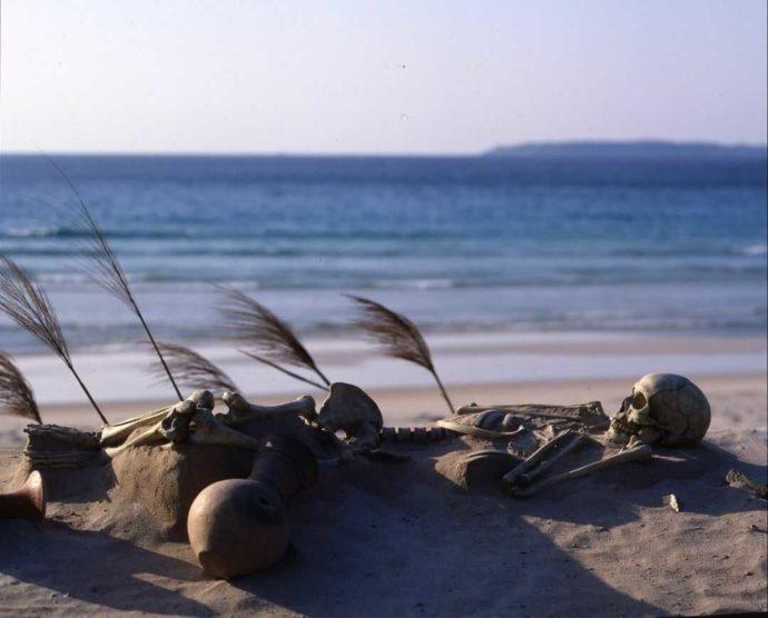 土井ヶ浜から発掘された骨