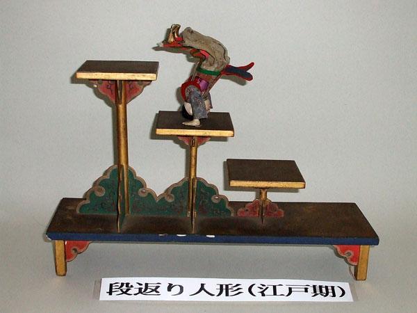 日本人形博物館・日本招き猫館の段返り人形