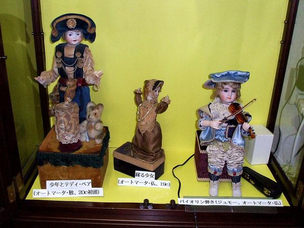日本人形博物館・日本招き猫館のオートマータ