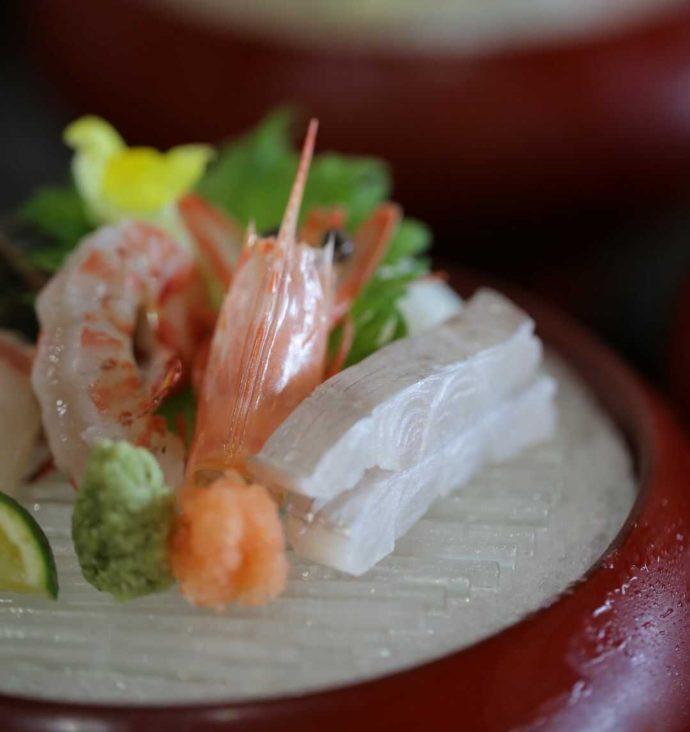 広島市南区にある結婚式場「エシェル」の石亭で食べられる海鮮料理
