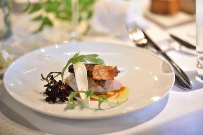 広島市南区の結婚式場「エシェル」にある人気レストラン「orage(オラージュ)」の料理